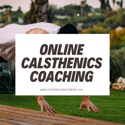 Online calisthenics coaching