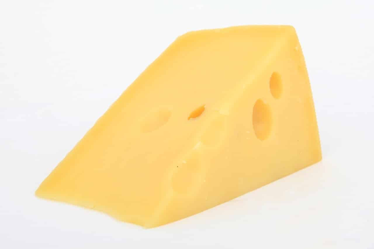 You can up your protein intake with swiss cheese