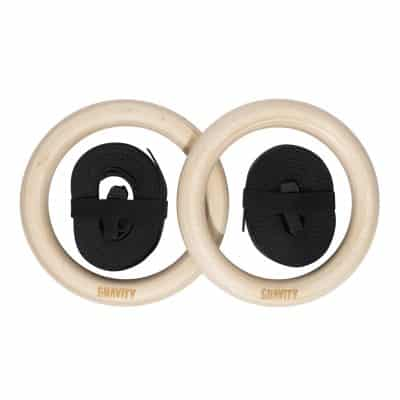 Gravity Fitness Wooden Rings