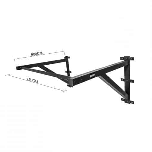 Gravity Fitness Wall Mounted Pull Up Bar