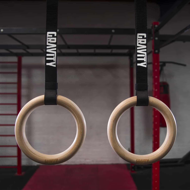 Gravity Fitness Wooden Rings