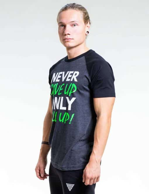 Gornation Never Give Up Shirt Men Green