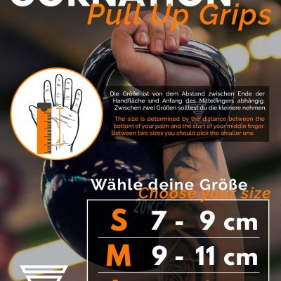 Gornation Workout Grips Leather