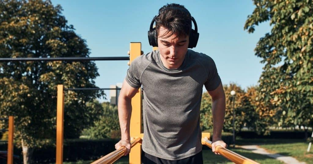 Calisthenics Triceps Exercise Beginner