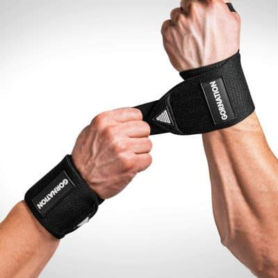 Gornation Power Wrist Wraps Black