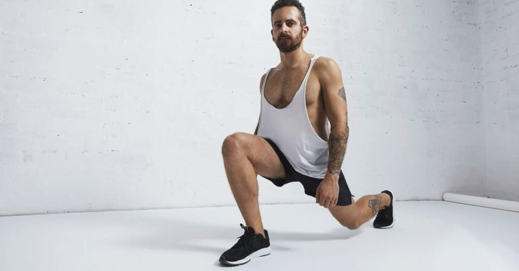 Bodyweight Exercise Lunges